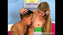 Cute small tits blonde amateur pornhub video
