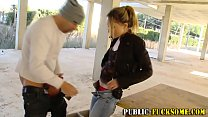 Babes pussy public fucked
