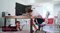 When Girls Play - (Jojo Kiss, Maya Bijou) - Study Buddies - Twistys