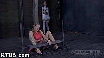 Hot torment for lovely slaves