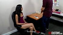 XXX Customs - Sophia Leone Stripped and Humilia...