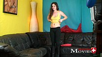 Naughty student Cleopatra at first Porn-Movie