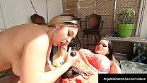 Thick Latina Angelina Castro Pussy Packs Big Butt Big Boobed Nina Kayy