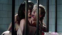 Lesbian sex in prison with Annie Cruz and Blake...