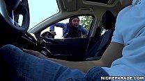 NICHE PARADE - Black Amateur Slut Gives Me Blowjob In Automobile For Money