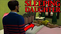Dad Fucking Sleeping Daughter After He Prepared Dinner For Her And Caught Her Masturbating