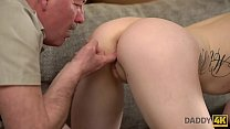 19855 DADDY4K. Old daddy creampies son's new girlfriend after amazing sex preview