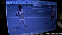 spring break amateur club flashers on south padre island texas image