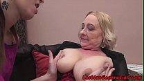 Stockings mature oral pleasuring babe