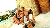 LiveGonzo Peaches and Bambi Euro Teen Lesbians
