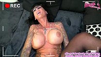 Voyeur follow german milf at home and fuck her with creampie and she get female orgasm