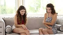 Art of face sitting with Adria Rae and Lana Rhoades