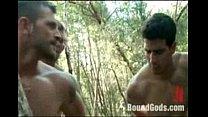 Nasty kinky gay sex in the wild