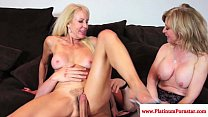 Erica Lauren and Nina Hartley ffm fun