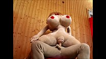Voluptuous Sex Doll Fucked in every possible way