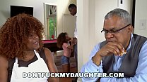 DON'T FUCK MY DAUGHTER - Ebony Teen Kendall Woo...