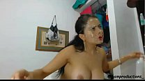 Sloppy deepthroat blowjob by Latina 3 preview image