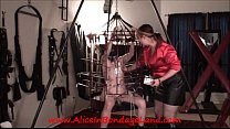 Sex and Metal Cage - Ride the Lightning - Chastity CBT Cattle Prod Electricity