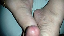 ENJOYED AT THE WIFE'S FEET
