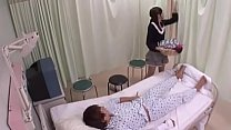 Cuzinho da japonesa chega a piscar na cama de hospital
