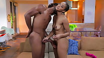 Experimenting With My Step Sister - Ebony / black porn