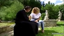 Hot MILF Anal Fucked Outdoor in German Classic ...