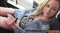 Cute blondie teen babe Vinna Reed gets banged real good