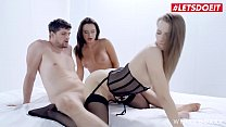 WHITE BOXXX - #Lana Roy #Stella Flex #Kristof Cale - Lucky Guy Gets To Have Sex With Two Hot Russian Bombshells