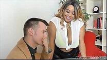 Busty British BBW Superstar Shanice Richards Rides Big White Cock thumbnail