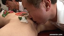Image: Asian babe is fucked like a salad