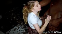 BLACKEDRAW Blonde Babe Gets Dominated By Huge BBC thumbnail