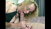 Cathy manage a big mushroom fat cock video