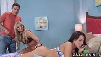 Zoey fucks Madelyns ass with a dildo pornhub video