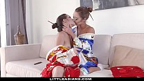 LittleAsians - Cute Geisha (Alex Dela Flor) Gets Her Pussy Eating