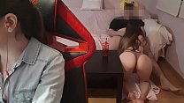 I GET HOT AND FUCK WITH MY SISTER´S BOYFRIEND W...
