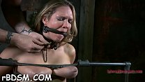 Screenshot Gal is bound up side down with her pussy thras her pussy thrashed