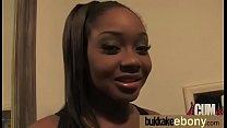 Ebony Gang bang and CUM FEEDING 8