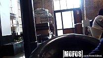 Mofos - Young couple fuck in café in public Vorschaubild