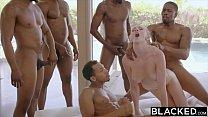 BLACKED Kendra Sunderland BBC interracial GANGBANG!! preview image