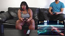 BBW Gamer Has Out-of-Body Experience While Riding Dick preview image