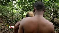 6992 Village Outdoor Threesome - Hunter Caught me Fucking Popular Village Slut (Trailer) preview