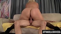 Jeffs Models - Blonde Plumper Jade Rose Taking Cock Compilation Part 4