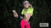 Skinny blonde teen Chanel Shortcake gets banged hard by Hookup Hotshot Vorschaubild