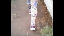 My Wife walking in the street of Suplex