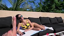 Angelica Cruz Got nice fuck with her dad on POOLSide