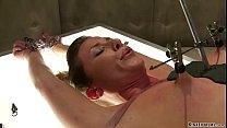 Slut is electro shocked in Psycho Ward