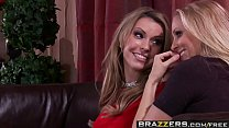 Brazzers - Real Wife Stories - Baby Cum On Me scene starring Courtney Cummz Julia Ann and Keiran Lee Image