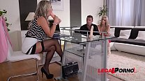 Ultra Hot Threesome Sex Therapy with Eva Parcke