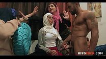 Brides in HIJAB fuck BBC