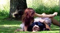 desixxxgirl.com: Indian Desi Girl Outdoor Romance mms thumbnail